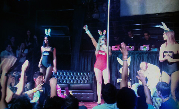 (Video) Playboy Night by Axe con Liliana Alvarez, Ana Rios, Vivi Figueredo